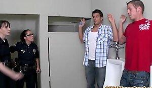 Dana dearmond hawt cop receives facialized