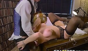 Brazzers - Chubby Tits at Work -  Backside Morals