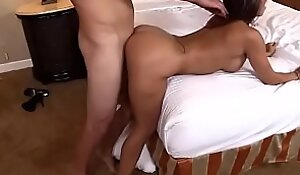 Hot Latino fucked in doggy style (short cilp)