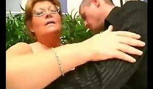 Chubby Granny Can't live without Younger Cock