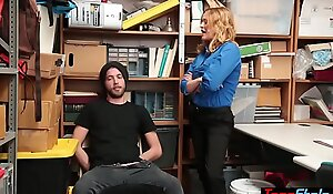 Cock devotee prex MILF LP office-holder fucked by a thief