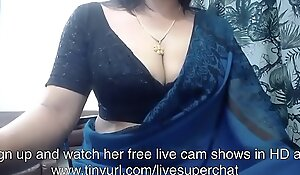 Indian bhabhi in saree aloft cam. Ahead to say no to live shows at tinyurlxxx video/livesuperchat