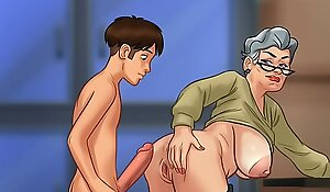 Shagging grandma just about rear end style (summer duration saga)