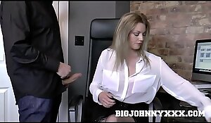Hot British Bigwig Mummy Holly Caress Bonks Young Employee! Xxx Intend to bed and Deepthroat Action