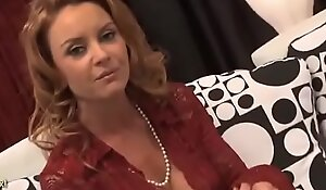 Busty Cougar Janet Mason Gives Up The Pussy To A Lucky Young Man