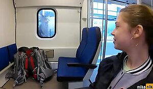 REAL PUBLIC BLOWJOB IN THE TRAIN you can chat with me here- bitsex 3fzt7Gs
