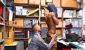 Black Teen Fucked By Gay Horny Cop