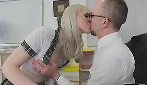 Shemale schoolgirl Lianna Lawson analed