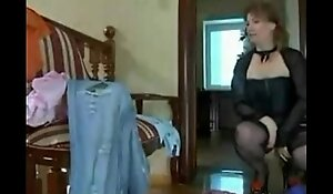 British stepmom taking their way shy stepsons cock