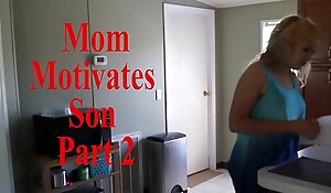 Mom Motivates Son Attaching 2