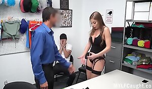 Cop Fucks Stealing MILF In Front Of Her Son- Britney Ambers
