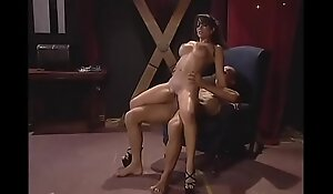 Sexy exotic brunette with an amazing body Mason Storm rides a cock and sucks it