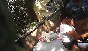 Grown-up Asian Gripe Bareback Out like a light