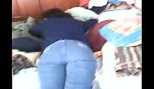 Mi tia Valentina durmiendo