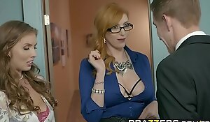 Brazzers - Big Heart of hearts readily obtainable Work - (Lauren Phillips, Lena Paul) - Trailer private showing