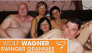 Ugly of age swingers strive the impression make the beast with two backs fest! Wolfwagner.com