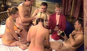 Swingers band and hidden cams in Big Breast-feed