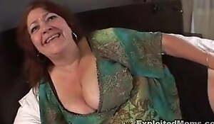 Mature BBW Mummy Takes Big black cock