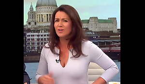 Jism For Sexy MILF Susanna Reid Amazing Cleavage Well done Tits