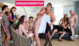 Venal Grandparents Orgy Affixing 1