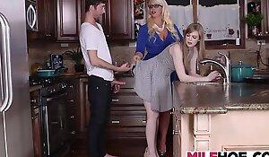 Hard up Stepmother Demands A Vivid Dick