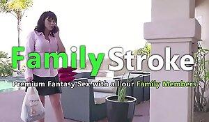 Belle Milf Drilled by Lass and Friend: Full Vids FamilyStroke xnxx fuck video