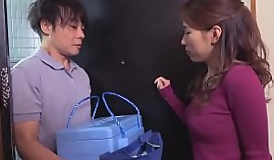 japanese mother seduces be transferred to government guy