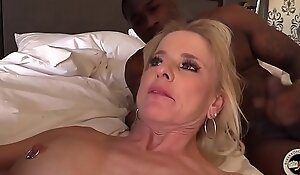 Of age milf creampied hard by bbc