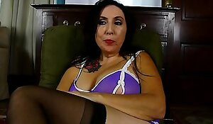Dirty talking old spunker fucks her fat juicy pussy until she finishes off be useful to u