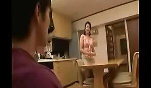 Japanese stepmom wash not fail stepson