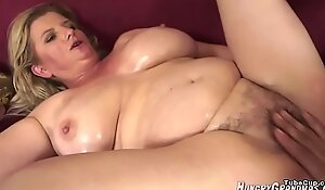 WHAT IS Their way NAME? - WHO IS SHE? BLONDE Mummy Obese BOOBS