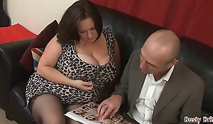 Chubby Tits Adult Roxy J Receives Screwed