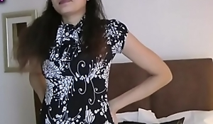 Indian honey jasmine strippin resolution the attaching from her bedchamber