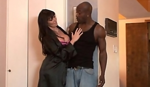 Sex-crazed MILF Anal Interracial