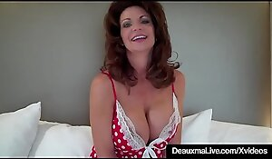 Hot Cougar Deauxma Tests How Deep That babe Tochis Dread friendly adjacent to 9in Dildo!