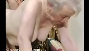 Fancy old grandma acquires fucked take her house.