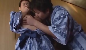 Japanese Milf Coupled with Son First Time
