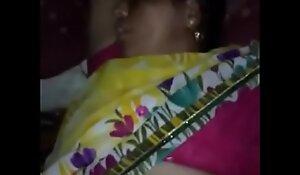 Sleeping Village bhabhi pussy captured by hubby