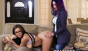 Hot Coupled with Niggardly - As though A Ma Accouterment 3 scene starring Cassidy Banks  Jelena Jensen