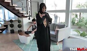 Cock MILF In Hijab Fucks Repairman- Kylie Kingston