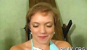 Mature slut enjoys getting her sweet marangos squeezed