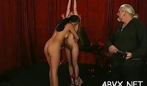 Mature woman extraordinary bondage in nasty xxx scenes
