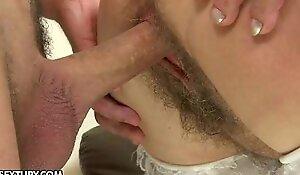 The hairy dominatrix-bitch