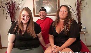 Casting despairing amateurs gopro bts footage bbw 3some milf large melons monry m