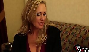 Brandi love screams as this babe acquires her taut pussy nailed hard - milfmomsex video xxx