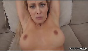 Big tit milf anal hd and blonde step mom sofa Cherie Deville in