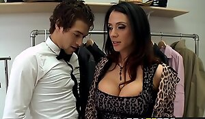 Brazzer xxx video - milfs like it large - sometimes i fuck everything scene starring ariella ferrera and xander c