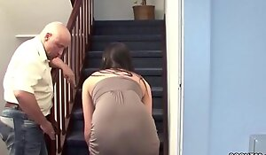 Real video spy cam hot woman and plumber in room