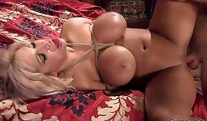 Guy dominating girlfriends huge tits mom
