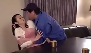 Japanese horny aunt seduce delivery boy cause not satisfied with husband LINK FULL HERE:  porno  video 33NLSQL